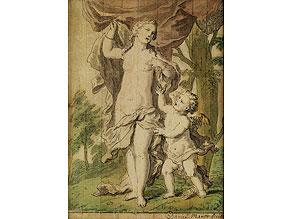 Detail images:  Daniel Marot, Maler und Zeichner des 18. Jahrhunderts
