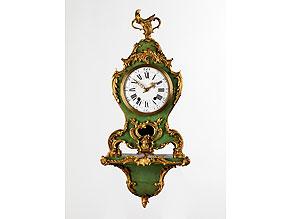 Detail images:  Französische Pendule im Louis XV-Stil