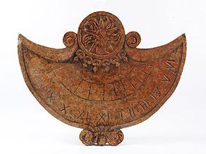 Detail images:  Sonnenuhr-Reliefplatte