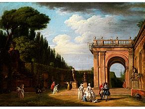 Detail images:  Jean Baptiste Lallemand, 1716 - 1803, zug.