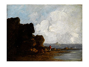 Richard Parkes Bonington,  1801 - 1828, zug.
