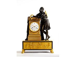 Detail images:  Bedeutende Kaminuhr in Bronze und Feuervergoldung von Le Sieur à Paris