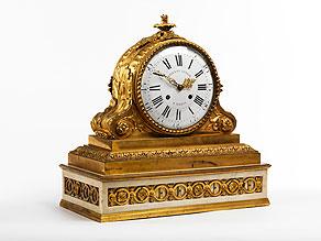 Detail images:  Kaminuhr im Louis XVI-Stil