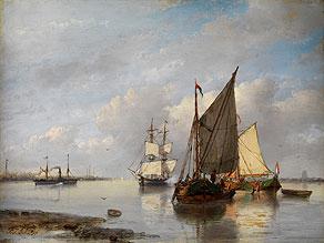 Petrus Jan Schotel,  1808 Doordrecht - 1865 Dresden