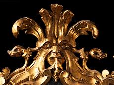 Detail images: Paar barocke Wandspiegel
