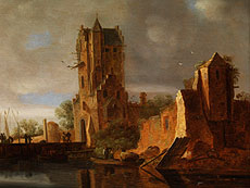 Detail images: Wouter Knijff, 1607 Wezel - nach 1693 Bergen op Zoom, Maler im Umkreis des Jan van Goyen, zug.