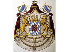 Detail images: Mundtuch aus dem ehemaligen Besitz des Königs Maximilian I. Joseph von Bayern, 1756 - 1825