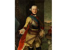Detailabbildung: Hofportraitist des 18. Jahrhunderts