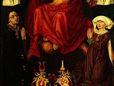 Detail images: Ulmer Meister um 1460/70