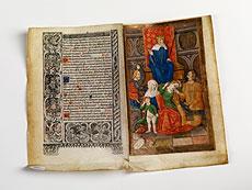 Detail images: Stundenbuch-Blatt