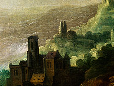 Detail images: Joos de Momper, der Jüngere, 1564 - 1635 und Hans Jordaens III. um 1595 - 1643
