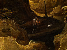 Detailabbildung: Joos de Momper, der Jüngere, 1564 - 1635 und Hans Jordaens III. um 1595 - 1643