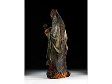Detail images: Gotische Madonnenfigur