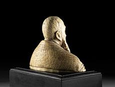 Detail images: Elfenbein-Büste Kaiser Karls V.