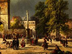 Detail images: Josef Karl Berthold Püttner, 1821 Plan - 1881 Vöslau