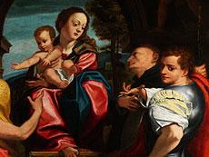 Detail images: Oberitalienischer Maler in der Nachfolge von Coreggio