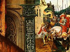 Detail images: Deutscher Maler des 16. Jahrhunderts, mit Wappenmonogramm (gekreuzte Schwerter)