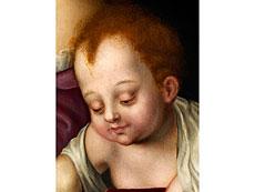 Detail images: Luis de Morales, um 1509 Bajadoz - 1586, zug.