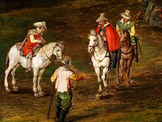 Detail images: Jan Brueghel, Maler des 19. Jahrhunderts, in der Art von,