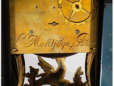 Detail images: Französische Pendule von Louis Montjoyé