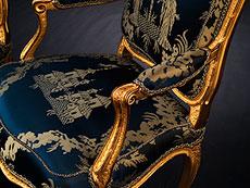 Detail images: Bedeutendes Paar Louis XV-Fauteuils von Philippe-Joseph Pluvinet