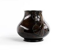 Detailabbildung: Japanische Bronzevase
