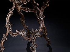 Detail images: Große Bilderstaffelei im Rokoko-Stil