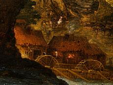 Detail images: Roelant Savery, 1576 - 1639, zug.