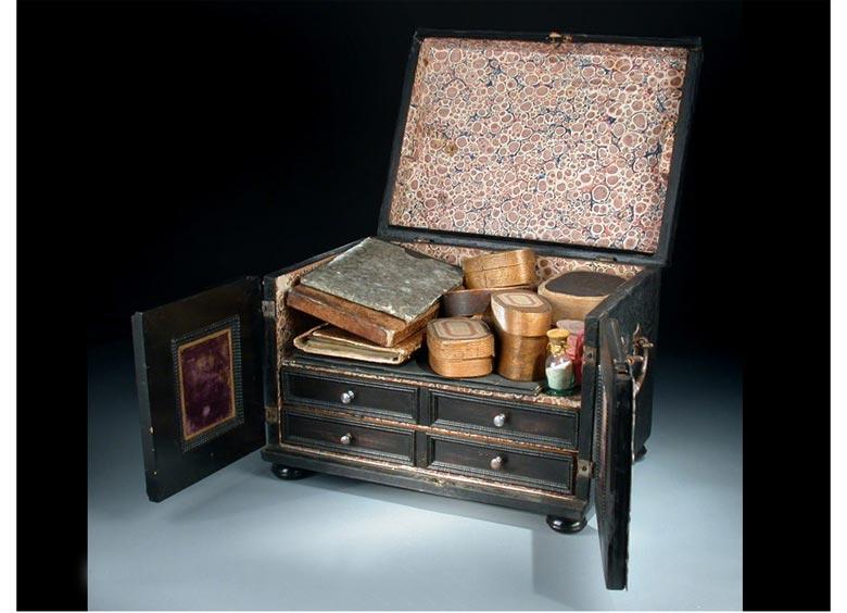Schreibkassette des 18. Jahrhunderts