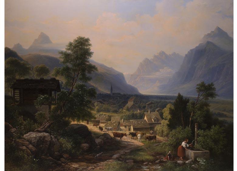 Maler des 19. Jahrhunderts im Stil der Nazarener
