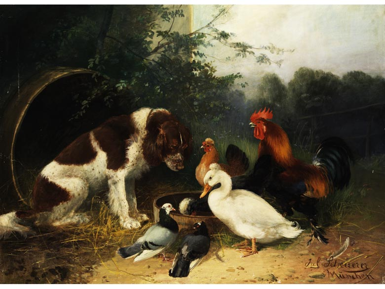 Julius Scheuerer, 1859 München - 1913 Planegg