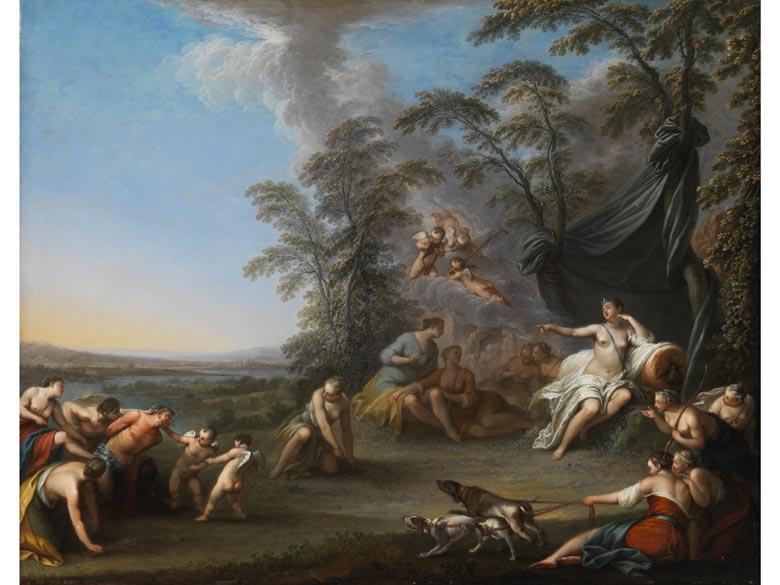Jacques Sébastien Le Clerc, 1734 - 1785