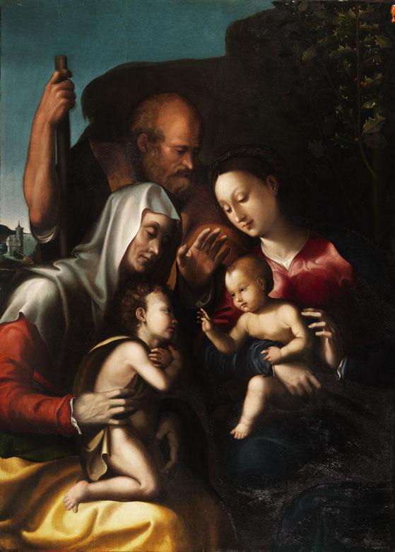 Leonardo Grazia, Da Pistoia, 1503 Pistoia - Napoli