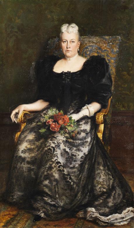 Giuseppe Castiglione, 1829 Napoli - 1908 Paris