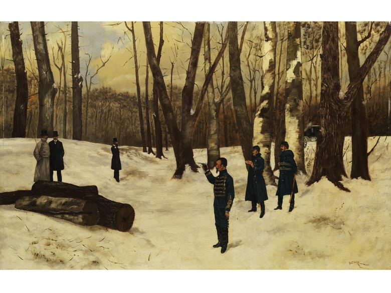 Mont Bard, Maler des 19./ 20. Jahrhunderts