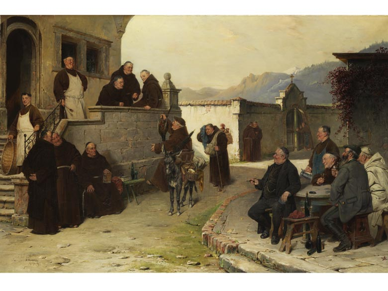 Adolf Humborg, 1847 Oravicabanya/ Ungarn
