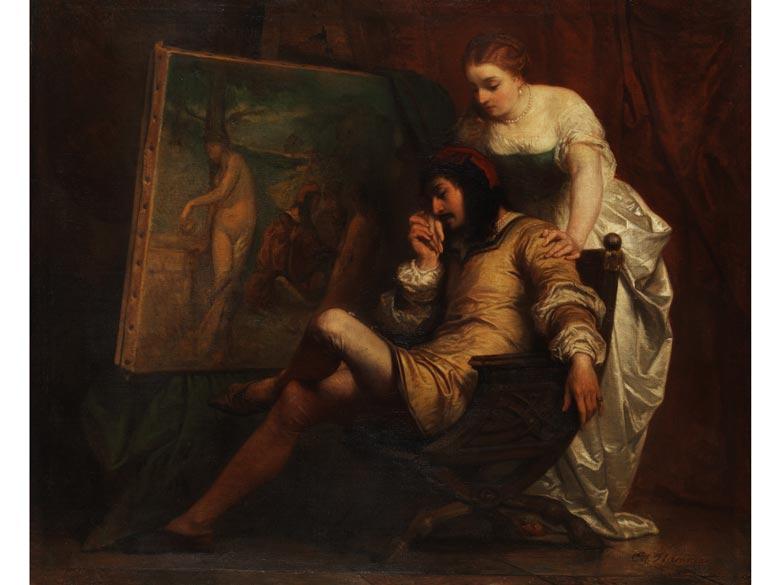 Edouard Jean Conrad Hamman, 1819 - 1888