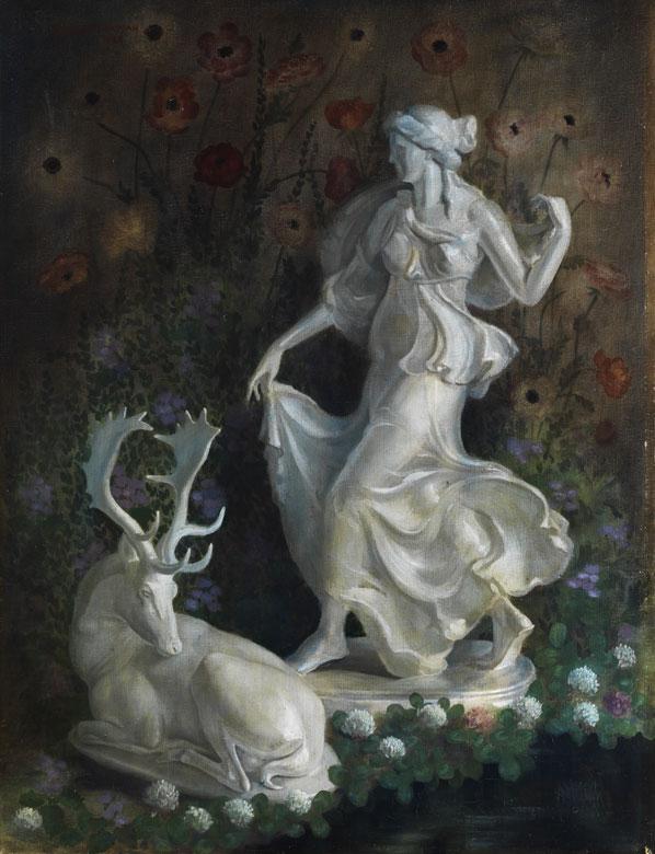 Karel Brockman, Holländischer Maler des 20. Jahrhunderts