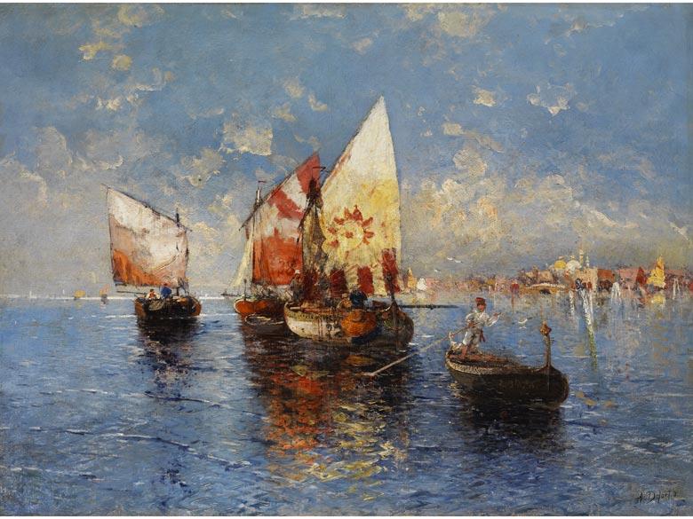 A. Defort, Maler des 20. Jahrhunderts