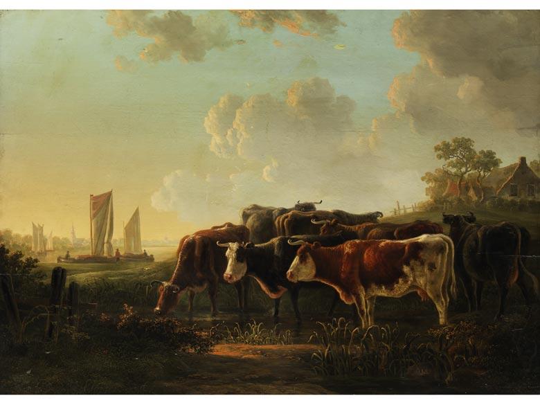 Niederländischer Maler des 18./ 19. Jahrhunderts