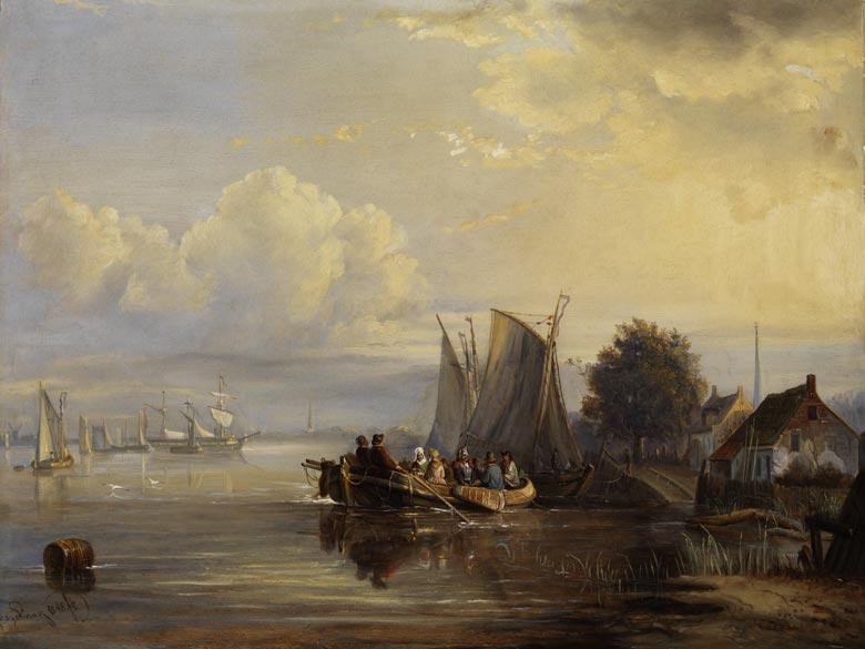 Egidius Linnig, 1821 - 1860