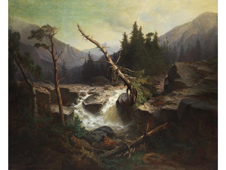 Joseph Wopfner, 1843 Schwaz/ Tirol - 1927 München