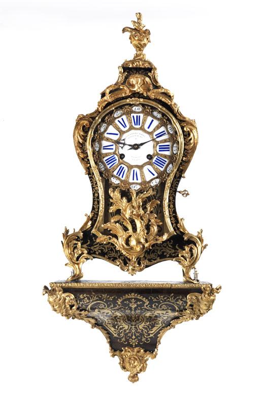 Französische Louis XV-Pendule