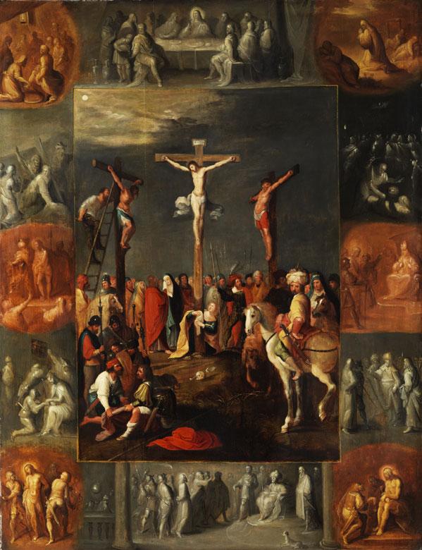 Frans Francken II., 1581 Antwerpen - 1642, zug.