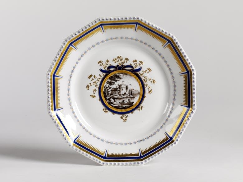 Serviceteil nach dem Service, das für König Ludwig III. und Königin Marie-Therese 1916 entstanden ist