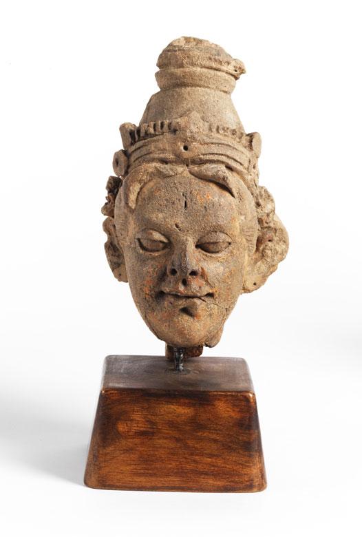 Terrakotta-Kopf