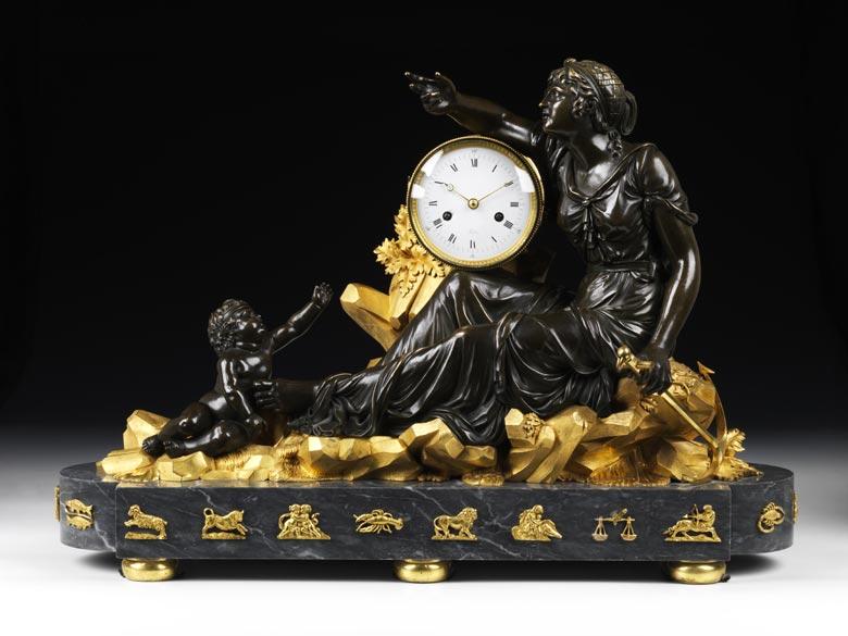 Kaminpendule von Robin 1742 - 1799 Paris, Hofuhrmachermeister unter Ludwig XVI