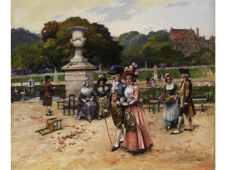 Henri Victor Lesur, 1863 - 1900