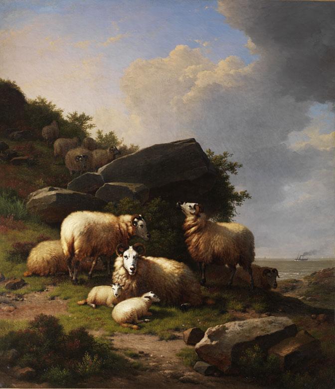 Eugène Verboeckhoven, 1799 Warneton – 1881 Brüssel