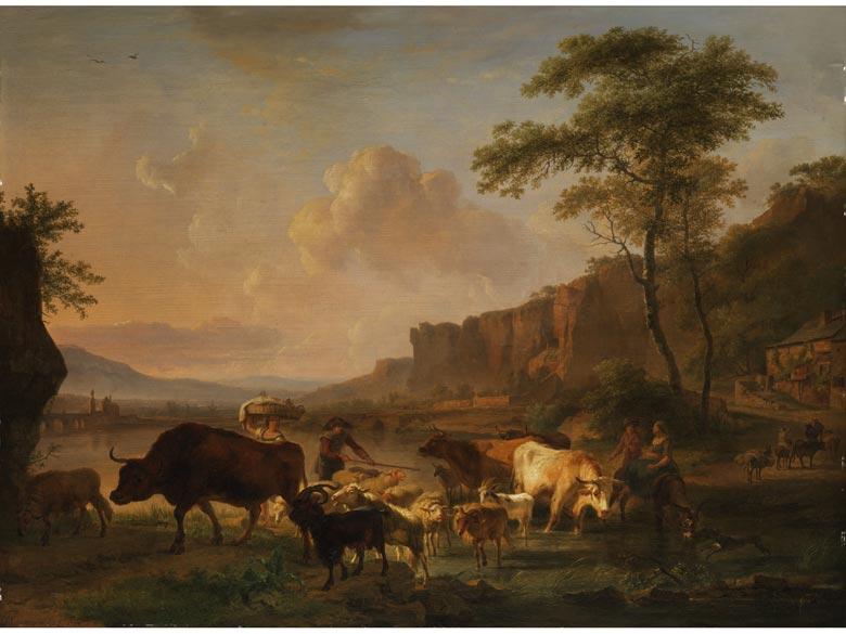Balthasar Paul Ommeganck, 1755 Antwerpen - 1826 Antwerpen